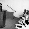 Neighborhood Women National Leadership Forum, 1982. Bertha Gilkey at podium. Courtesy of the Sophia Smith Collection
