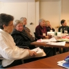 Neighborhood Women members at the Kathleen Ridder Conference, Smith College, 2004