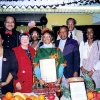 Mildred Tudy-Johnston at Crispus Attucks Kwanzaa 1991. Courtesy of the Tudy family