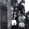 Members of the National Congress of Neighborhood Women outside the NW House in Brooklyn, NY