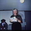 Jan Peterson and Mildred Johnson at NW Institute 1992