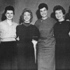 Caroline Pezzullo, third from right, with sister activists