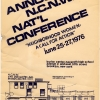 1976 National Conference. Courtesy of the Sophia Smith Collection